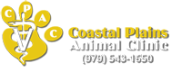 Vet In El Campo | Coastal Plains Animal Clinic Logo